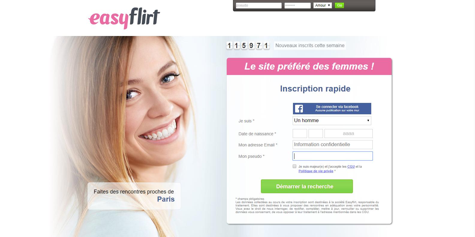 Votre site de rencontre easyflirt