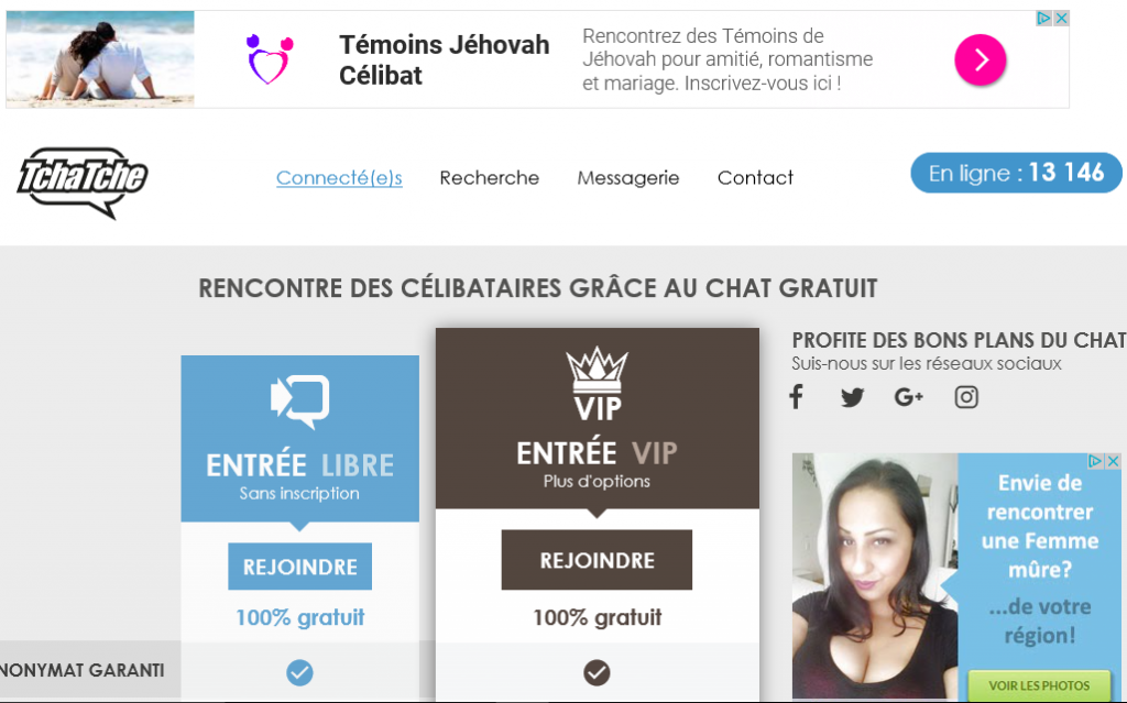site de tchat pour adulte placelibertinr